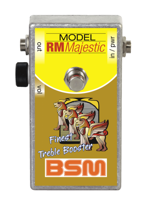 Booster Image: RM Majestic Treble Booster